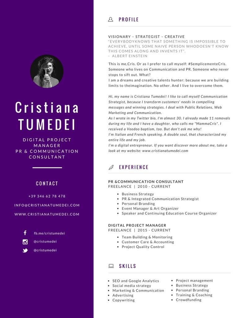 cristiana-tumedei-strategist-infographic-resume