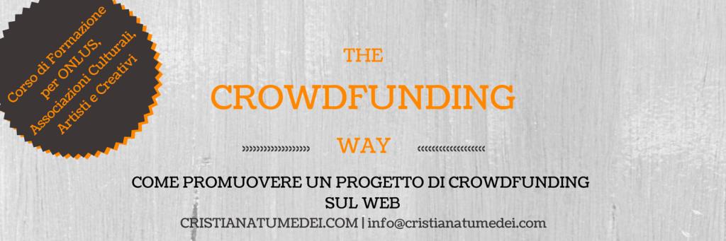 Corso di Formazione - Promuovere un Progetto di Crowdfunding sul Web