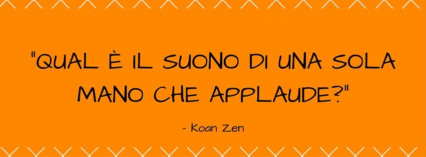 Networking e Artisti - Una citazione di Koan Zen